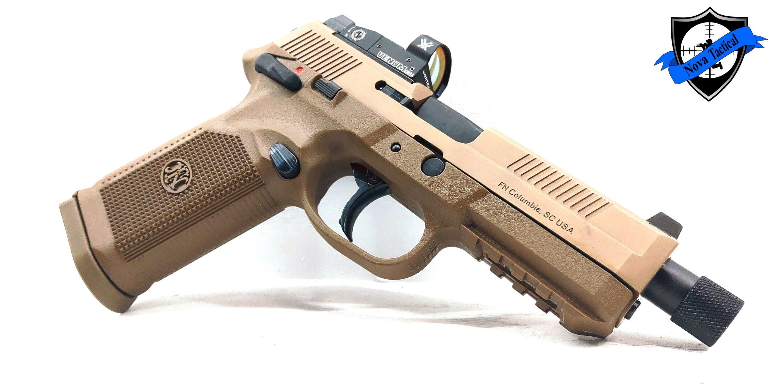 Fabrique Nationale Fnh Fnx 45 Tactical Fde Nova Tactical